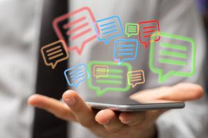 Comunicación en la App
